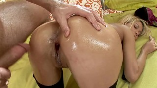 Barely Legal Tiny Little Teen Destroyed and Asshole Filled with CUM
