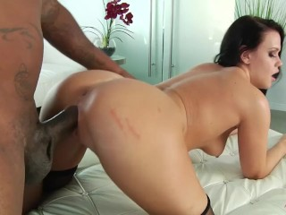 Roxy Raye gets her holes rammed by bbc