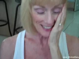 Amateur Grandma Cocksucker Cum Slut