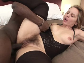 Taiwan Sex Basket Fucking, MILF With Big natural TIts Gets Hairy Pussy Fucked By BBC Big