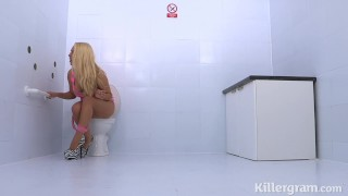 Killergram Sexy blonde Victoria Summers fucks hung stud in gloryhole  big booty british dirty talk big tits gloryhole fuck big cock british killergram blonde butt pussy licking big boobs glory hole small ass cum in mouth shaved pussy dirty talk