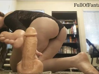 Italian Brunette Short & Sweet Foot Jerk Off Encouragement