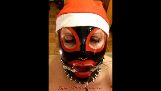 Dick clarks new years eve online - Jingle bells new years eve latex mrs. claus ring gag dripping deepthroat