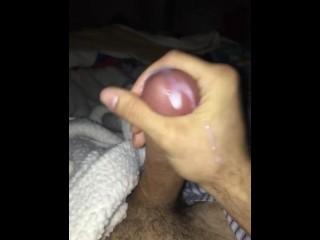 Big Italian Cock with a huge load