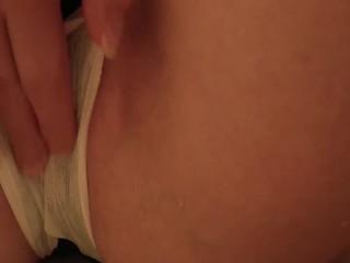 Desperate Wetting a Menstrual/Period Pad Peeing