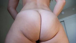 Ashley Alban, Fuck Mommy's Ass  close up point of view solo female big tits mom solo milf twerking kink striptease brunette shaved mother big boobs ashley alban ass shacking