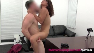Latina Teen First Time Anal Creampie on Casting Couch Ass redhead