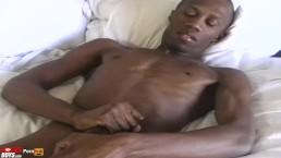 Big dick Bama boy storkes and shoots his load