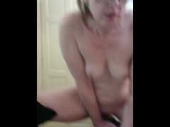 Watch me fuck myself wet pussy orgasm hot milf fucks
