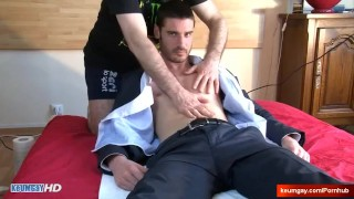 Ludo's dick massage ! (straight guy seduced for gay porn)