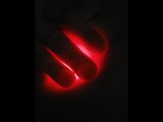 TEASER:KinkyBulge first anal light show(more soon!)