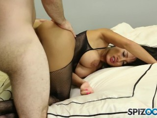 Pornographic Film Clips Spizoo - Gorgeous Amia Miley Fucking A Big Dick, Big Booty And