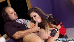 Spizoo - Watch Porn legends Jessica Jaymes and Ron Jeremy full sex movie