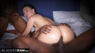 BLACKEDRAW They took turns in my girlfriends ass Tied fuck