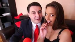 la folle notte a Budapest di Andrea Diprè con Amirah Adara (video intero)
