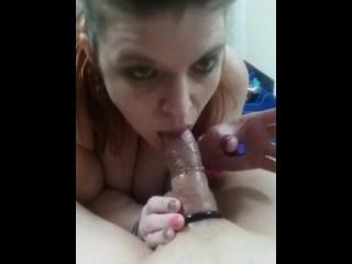 Smoking cock teaser