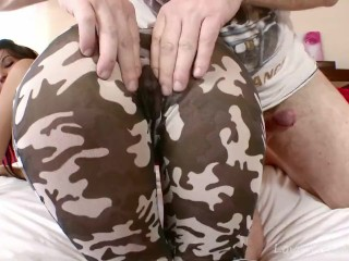 She Can't Wait To Get Her Ass Fucked