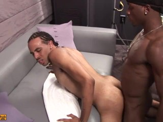 Damori and Speechless fucking for the hell of it Bareback