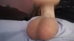 Big Full Balls Bouncing While I Fuck Fleshlight Pussy