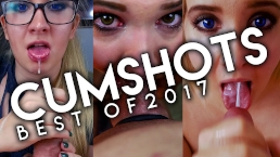 Best Cumshots of 2017 Compilation | Vivian Rose