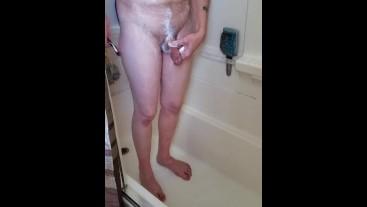 Showering & Shaving Hidden Camera