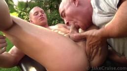 John Magnum Massaged by Jake Cruise
