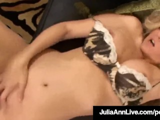 Horny Hot Milf Julia Ann Gets Doggy & Titty Fucked By A Cock