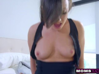 Step-Mom Wakes ing stepSon For Cock And Creampie S7:E2