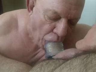 me worshiping cock c