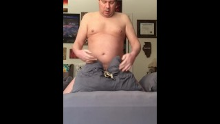 Humping Pillow in Tuggie Tits pussy