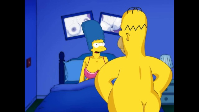 Simpsons homer and mindy having sex - Marge big tits and homer simpson big dick. cartoon video