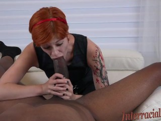 Busty and blowjob and files and tiny cute redhead takes dredds massive bbc and creams all over it! Bi