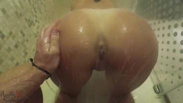 Shower quickie before going to a party - Naughtysoulmates