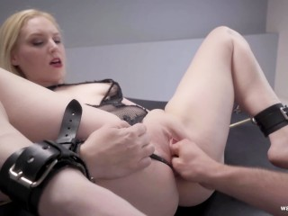 Savannah Video Porn Fucking, Fisting- a Fist Full of Delirious Hunter Babe Blonde Bondage Fisting Pornstar