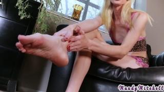 Trans foot fetish joi