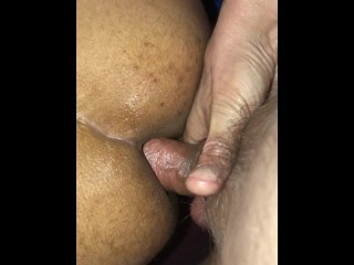 indian guy double penetrated with dildo