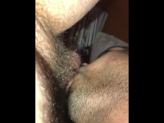 deep troating a cock