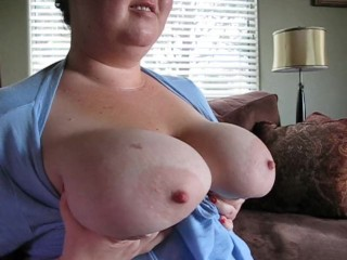 Young BBW Tits Hanging Down