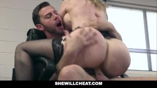 SheWillCheat Older MILF Nina Hartley Hires Young Stud For Hardcore Sex