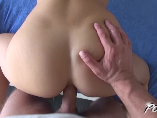 Best ass on earth fucked by horny stranger in his house