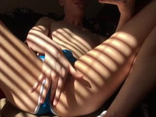 Teasing My Boy Pussy