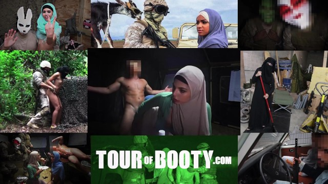 Middle east great asses Tour of booty - rowdy soldier gets some action in the middle east