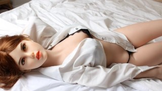 Blowjobs from these big titted sex dolls never felt so good
