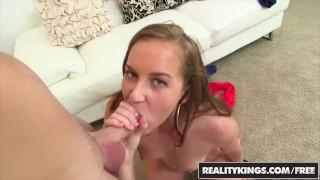 Cum Fiesta Charli Maverick's first time in porn