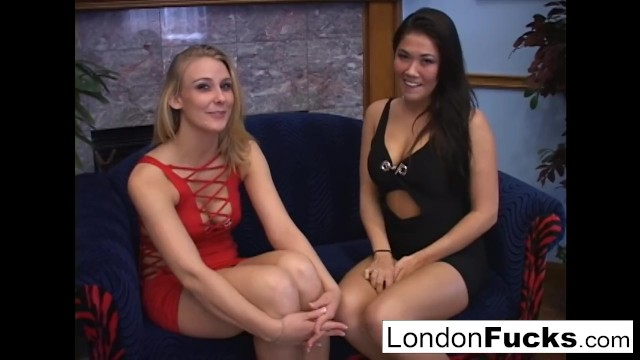 London and Natalie Norton suck cock