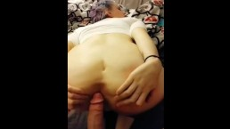 Tinder slut goes from date to facial ! Snapchat video
