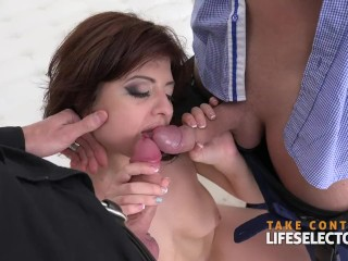 Valerie kaprisky movies angelin joy - pleasing two cocks lifeselector ass fuck 3some big boobs