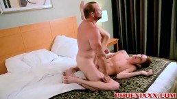 Adorable twink Preston Andrews gets an immense ass fucking