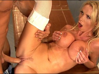 Busty Nurse Nikki Benz Gives a Full Physical