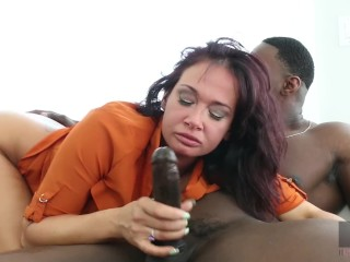Hussie Auditions: Busty Brunette Milf Tory Lane takes on Jax Slayher's BBC